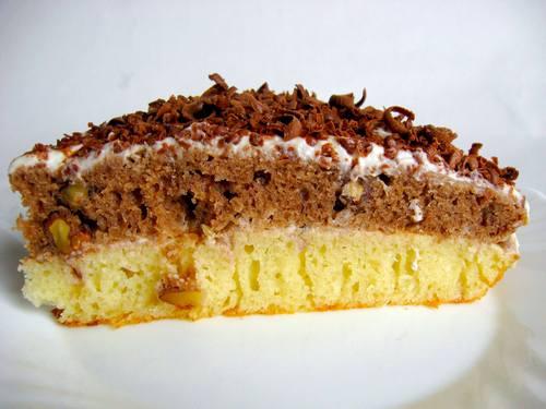 Рецепт торт бисквитный со сметанным кремом