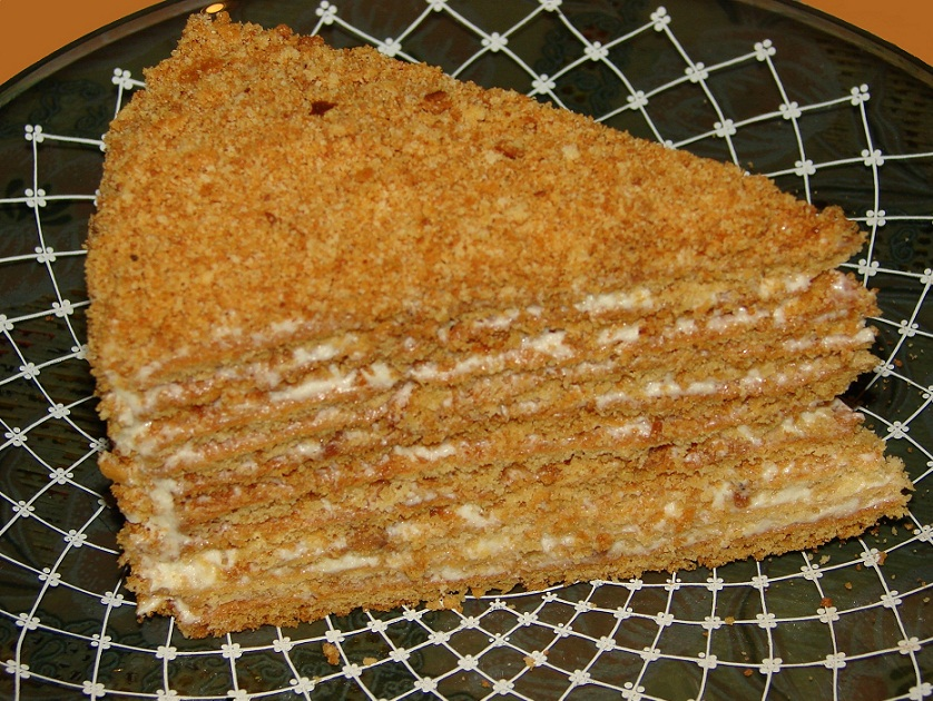 торт медовый рыжик рецепт