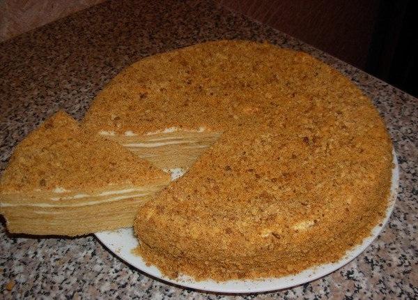 Торт медовый классический пошаговый рецепт с фото