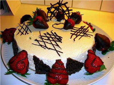 Простые украшения для тортов своими руками